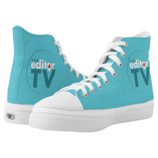 Classic Canvas Sneakers with TheEditorTV Logo