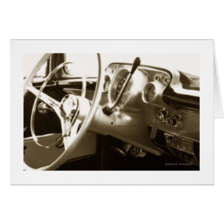 Classic Car 18 Greeting Card