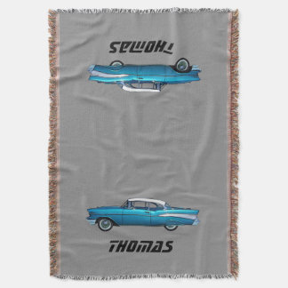 Classic car 1957 Chevy BelAire custom blanket