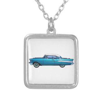 Classic car 1957 Chevy BelAire custom necklace