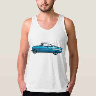 Classic car 1957 Chevy BelAire mens tank top