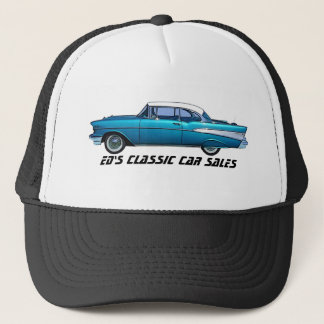 Classic car 1957 Chevy BelAire Trucker Hat