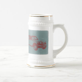 Classic Car Beer Stein