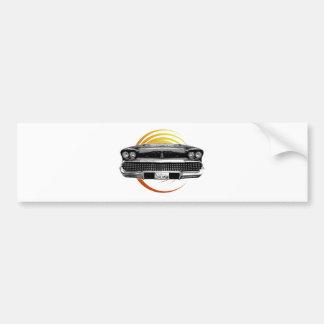 Classic Car Bumper Sticker