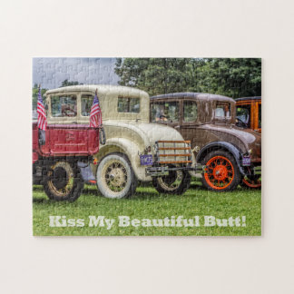 Classic Car Butts Jigsaw Puzzle