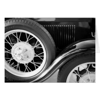 Classic Car Card