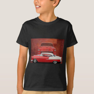 Classic Car Chevy Bel Air Red White Vintage Dodge T-Shirt
