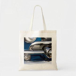 Classic Car Chrome Closeup Canvas Bag