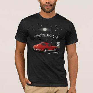 Classic Car Cruising Route 66 T-shirt