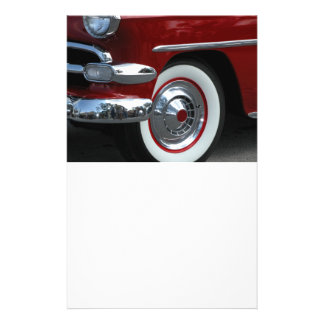 classic car design 14 cm x 21.5 cm flyer