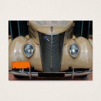 Classic Car Design Business Card