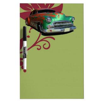 Classic Car Dry Erase Board