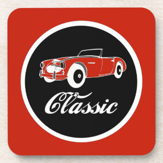 Classic Car Fifties Convertible Retro Coaster