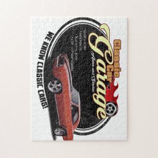 Classic Car Garage 1969 Jigsaw Puzzle