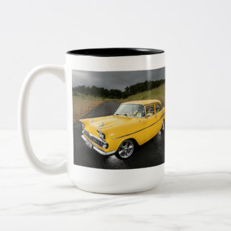 Classic Car GMH FB Holden - Two-Tone Coffee Mug