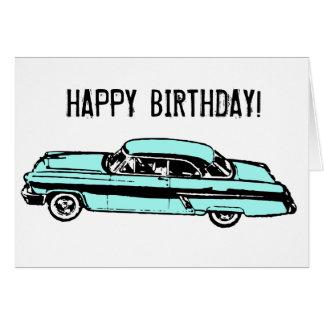 Classic Car HAPPY BIRTHDAY! Greeting Card