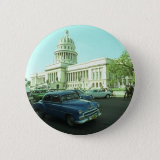 Classic Car Havana Cuba 6 Cm Round Badge