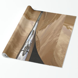 Classic car hood wrapping paper