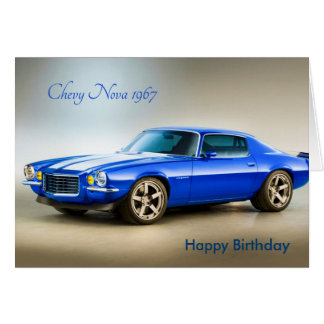 Classic Car image for birthday-greeting-card Greeting Card