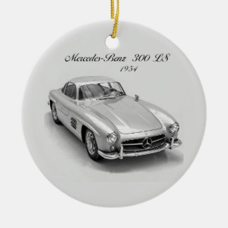 Classic Car image for for Circle Ornament