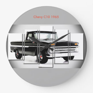 Classic car image for Round-Large-Wall-Clock Large Clock