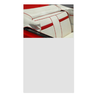 Classic Car Interior Pack Of Standard Business Cards