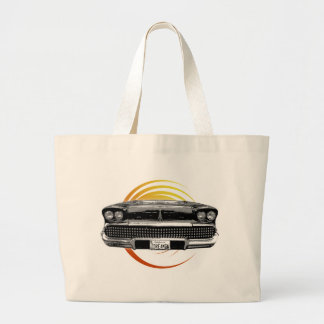 Classic Car Large Tote Bag