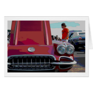 Classic Car Note Card