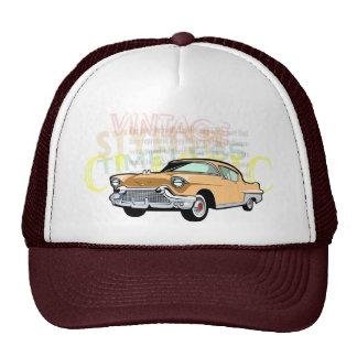 Classic car, old Chevrolet Bel Air in brown Cap