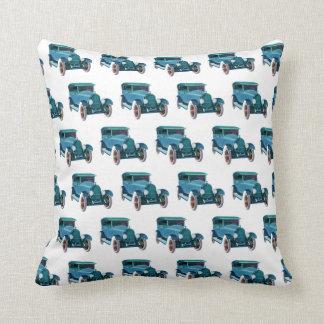 Classic Car Pattern #3 @ Garysretrogarage Throw Pillow