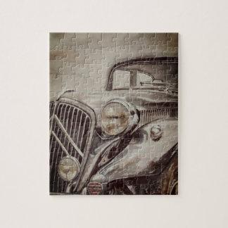 Classic car puzzle