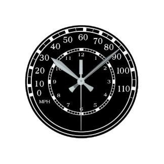 Classic Car Speedometer Clock