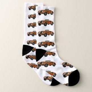 Classic Car Stretch Crew Socks 1