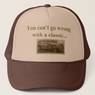classic car trucker hat