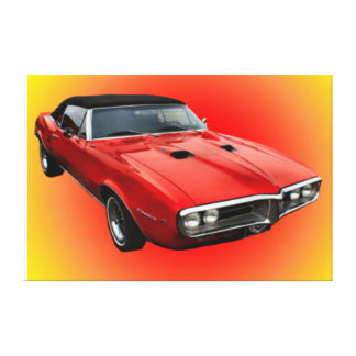 Classic Car Wall Canvas. Stretched Canvas Print