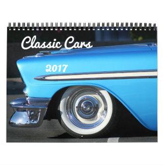 Classic Cars 2017 Calendar