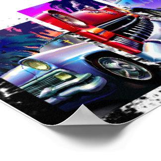 "Classic Cars 20"" x 16"", Value Poster Paper (Matte)"