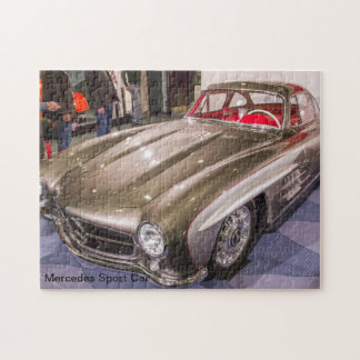 Classic Cars - Mercedes Sport Car Jigsaw Puzzle