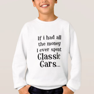 classic cars sweatshirt