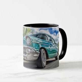Classic Chevrolet Car Black 11 oz Combo Mug
