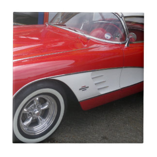 Classic Chevrolet Corvette Ceramic Tile