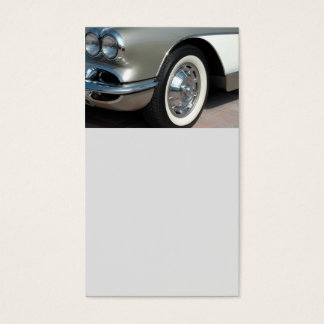 Classic Chevrolet Corvette Design Business Card