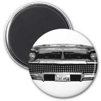 Classic Chevy 6 Cm Round Magnet