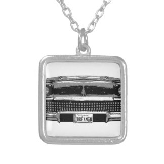 Classic Chevy Silver Plated Necklace