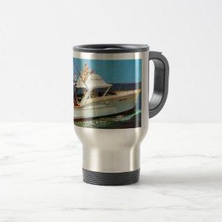 Classic Chris Craft Boats Coffee Steel Travel Mug