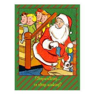 Classic Christmas Art Card or Postcard
