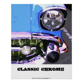 Classic Chrome Poster
