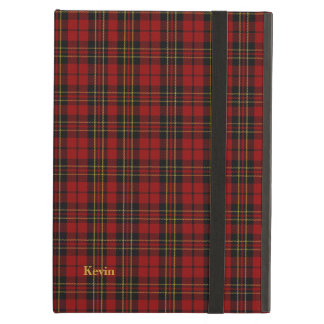 Classic Clan Brodie Tartan Plaid iPad Air Case