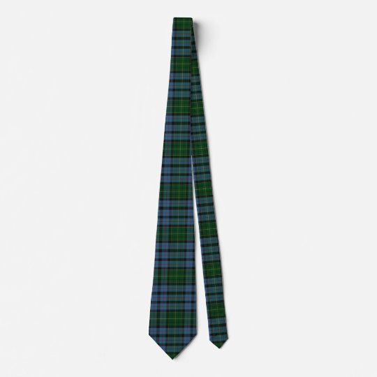 Classic Clan Forsyth Tartan Plaid Neck Tie