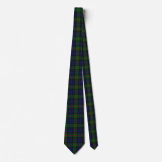 Classic Clan Gunn Tartan Plaid Neck Tie